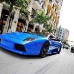 Lamborghini Murcielago Blue