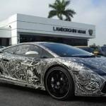 Автосалон Lamborghini Miami